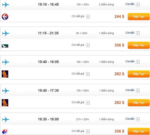 Bảng giá vé máy bay đi Nhật Bản
