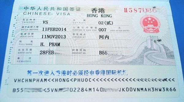 Hướng dẫn chi tiết cách làm thủ tục xin visa đi Hong Kong